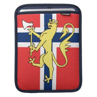 Norwegian Flag Coat of Arms Rickshaw Sleeve