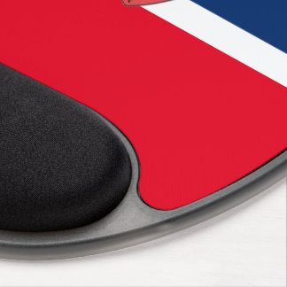 Norwegian flag gel mouse pad