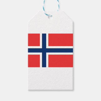 Norwegian Flag Gift Tags