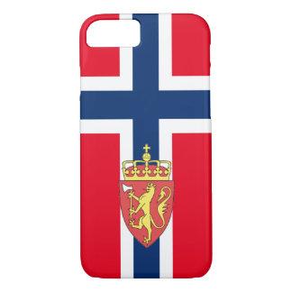Norwegian flag iPhone 8/7 case