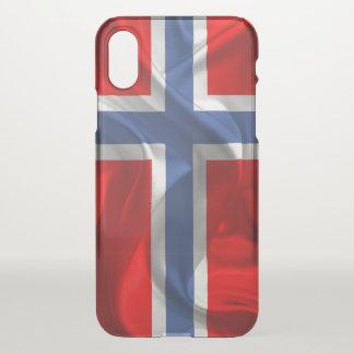 Norwegian flag iPhone x case