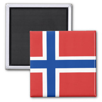 Norwegian Flag Magnet