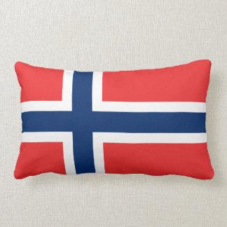Norwegian flag pillow
