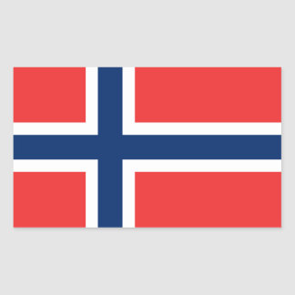 Norwegian Flag Sticker