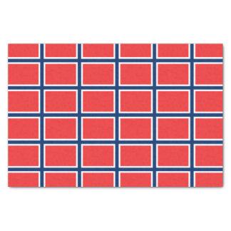 Norwegian Flag Tissue Paper