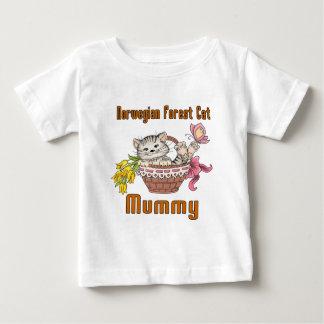 Norwegian Forest Cat Cat Mom Baby T-Shirt