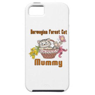 Norwegian Forest Cat Cat Mom iPhone 5 Cover