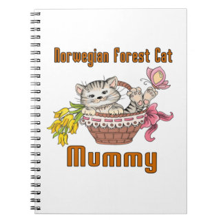 Norwegian Forest Cat Cat Mom Notebook