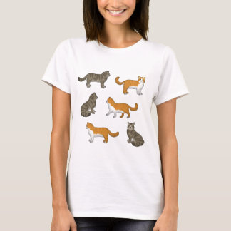 Norwegian forest cat selection T-Shirt