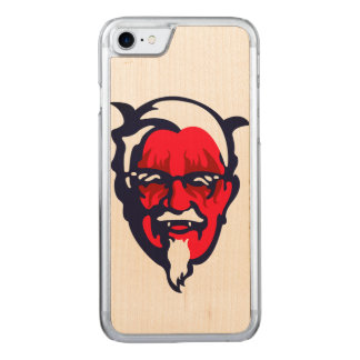 Norwegian Fried Chicken Carved iPhone 7 Case