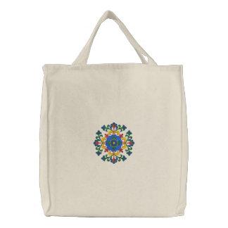 Norwegian Hallingdal Rosemaling Embroidered Bags
