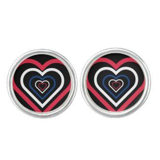 Norwegian Heart Norway-inspired Cufflinks