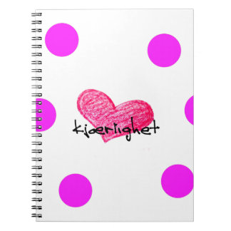 Norwegian Language of Love Design Notebook