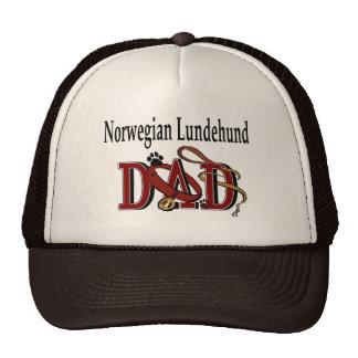Norwegian Lundehund Dad Gifts Trucker Hat