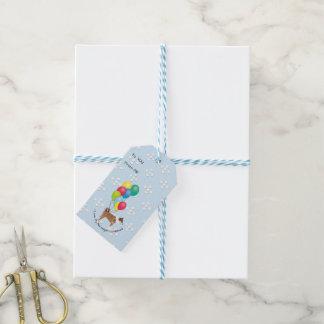 Norwegian Lundehund Happy Birthday Gift Tags