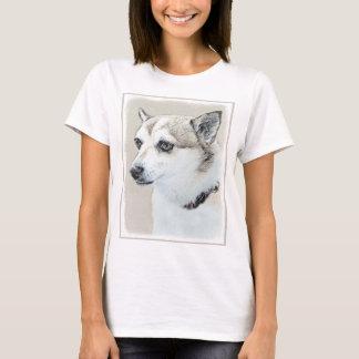 Norwegian Lundehund Painting - Original Dog Art T-Shirt