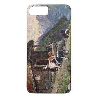 Norwegian milk maids' cabin iPhone 7 plus case