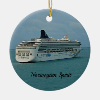 Norwegian Spirit Ceramic Ornament