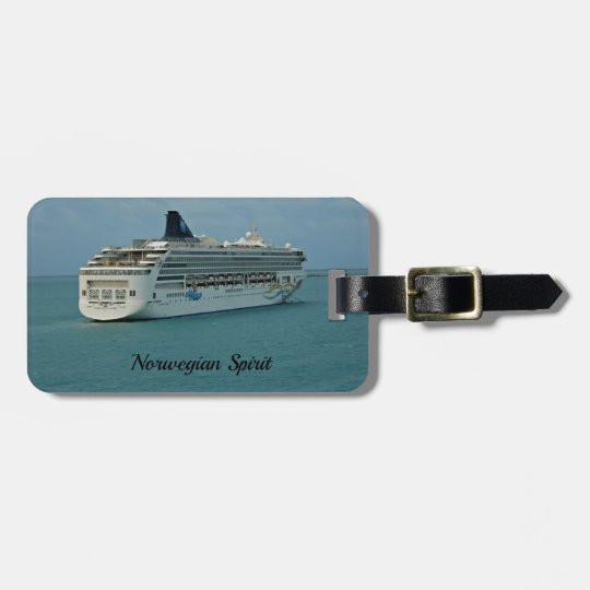 Norwegian Spirit Luggage Tag