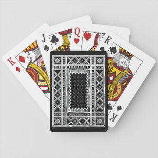 Norwegian Style Knit Ornaments Playing Cards
