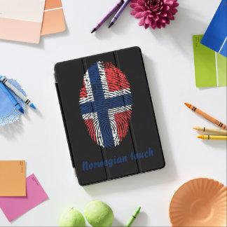 Norwegian touch fingerprint flag iPad air cover