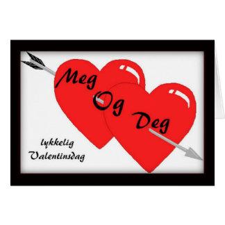 Norwegian Valentine's Day Card