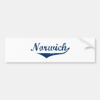 Norwich Bumper Sticker