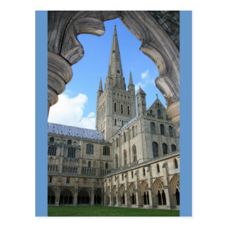 Norwich Cathedral Postcard