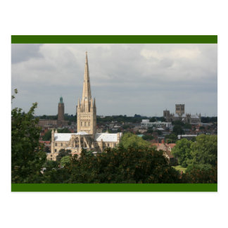 Norwich Cathedrals. Postcard
