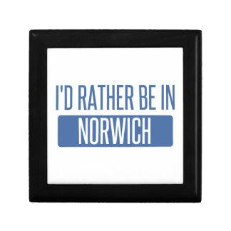 Norwich Jewelry Box