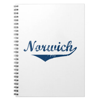Norwich Spiral Notebook