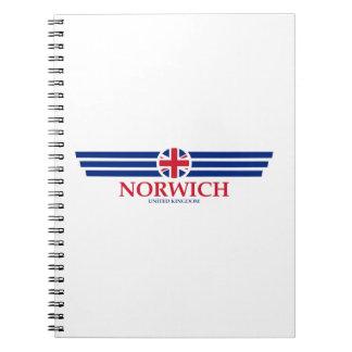 Norwich Spiral Notebook