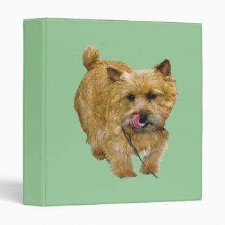 Norwich Terrier Binder