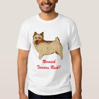 Norwich Terrier - Body left Tee Shirts