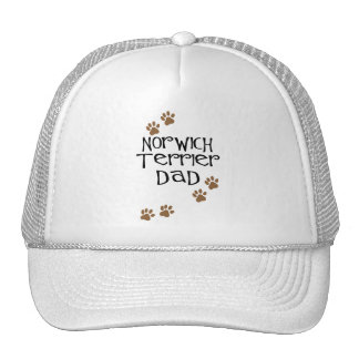 Norwich Terrier Dad for Norwich Terrier Dog Dads Hats