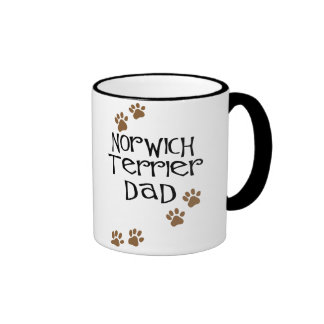 Norwich Terrier Dad for Norwich Terrier Dog Dads Mug