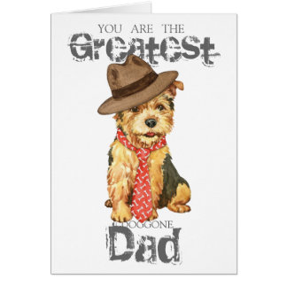 Norwich Terrier Dad Greeting Card