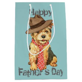 Norwich Terrier Dad Medium Gift Bag