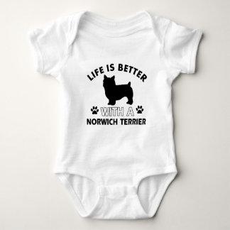Norwich Terrier dog breed designs T Shirt
