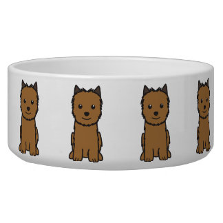 Norwich Terrier Dog Cartoon