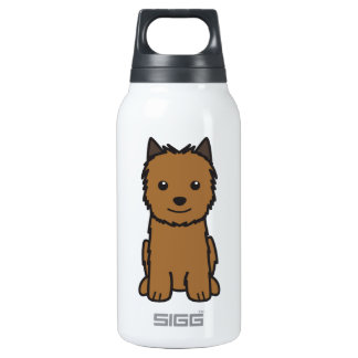 Norwich Terrier Dog Cartoon SIGG Thermo 0.3L Insulated Bottle