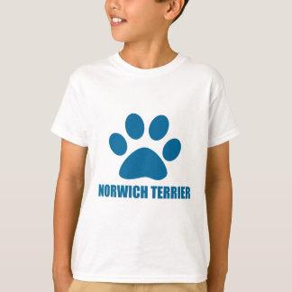 NORWICH TERRIER DOG DESIGNS T-Shirt