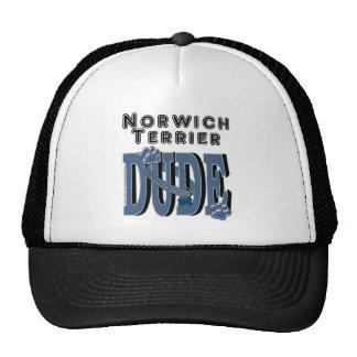 Norwich Terrier DUDE Trucker Hat
