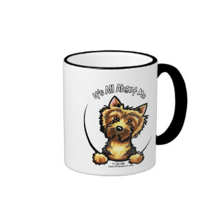 Norwich Terrier IAAM Its All About Me Ringer Coffee Mug