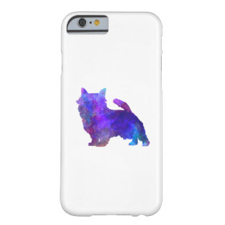 Norwich Terrier in watercolor Barely There iPhone 6 Case