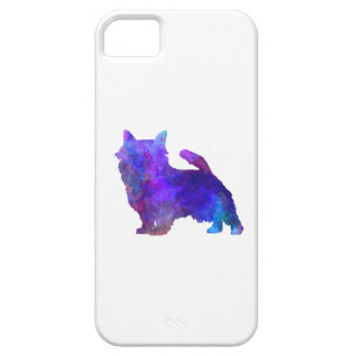 Norwich Terrier in watercolor iPhone 5 Cases
