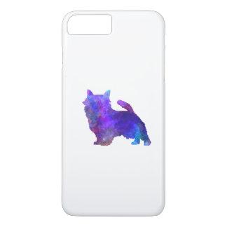 Norwich Terrier in watercolor iPhone 7 Plus Case