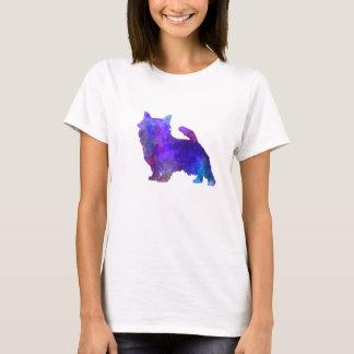Norwich Terrier in watercolor T-Shirt