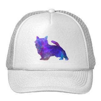 Norwich Terrier in watercolor Trucker Hat