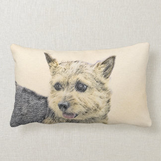 Norwich Terrier Lumbar Pillow